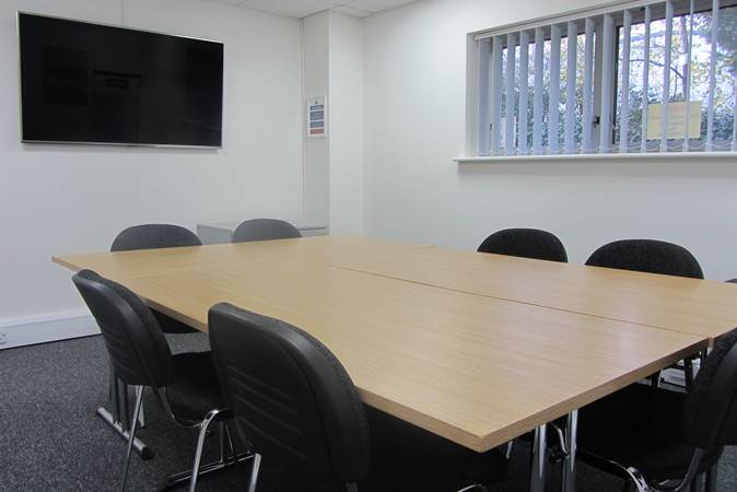 Faringdon Business Centre meeting room seats 8