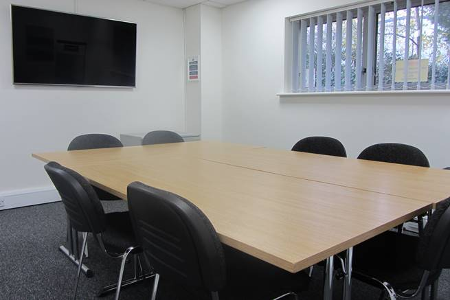 Faringdon Business Centre meeting room